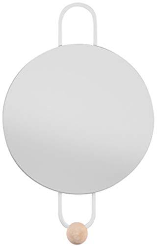 Present Time Miroir lumineux avec crochet Blanc mat