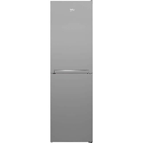 Beko CFG3582S 50/50 Freestanding Frost Free Fridge Freezer - Silver