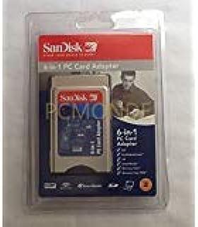 SanDisk 6 en 1 PCMCIA PC Adaptador de Tarjeta SD, SDHC, xD M ...