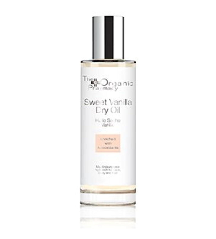 蚊印刷する世界The Organic Pharmacy Sweet Vanilla Dry Oil - Multi-use For Face, Body & Hair 100ml/3.4oz並行輸入品