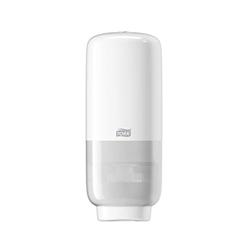 Tork Foam Skincare Automatic Dispenser - Intuition Sensor for Foam Soap and Hand Sanitizer 571600 - Economical, S4 System, white