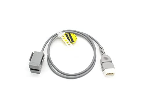 MedX5 SpO2 Sensor infantil (M-50B) para Pulsioxímetro, sensor PEDIÁTRICO para Oxímetro de dedo (MD300M & MD300K2), Producto médico certificado