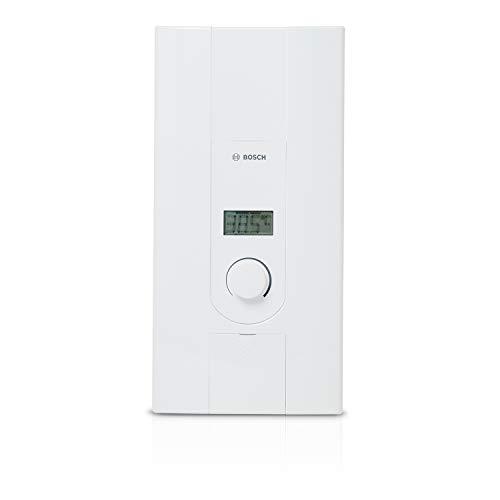 Bosch elektronischer Durchlauferhitzer Tronic 7000, 24/27 kW, Übertischgerät, druckfest mit 2-in-1 Leistungsumschaltung, LCD-Anzeige