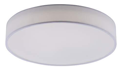 Trio Leuchten WiZ LED Deckenleuchte Diamo 651914001, 36 Watt RGBW LED mit 16 Mio. Farben + 64.000 Weißtöne + 18 Licht-Szenen, Steuerung über App + Sprachsteuerung + Fernbedienung + Wandschalter
