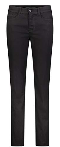 MAC Jeans Damen Hose Slim Fit Angela Forever Denim Black-Black 44/32