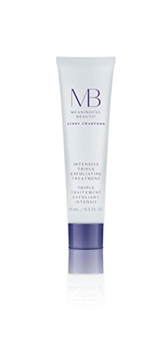 Meaningful Beauty Intensive Triple Exfoliating Treatment , Infused with Papaya Enzymes, Glycolic Acid, Lactic Acid and Purifying Clay , 0.5 Fl Oz 2