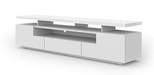 mobile tv 180 cm Eva - Mobile basso per TV da 180 cm