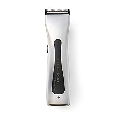 Wahl Professional Sterling Big Mag Clipper #8843 Great for Professional Stylists and Barbers Rotary Motor Silver