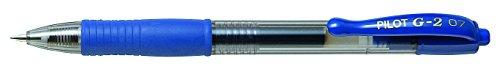 Pilot BL-G2-7-L – Roller gel retráctil, color azul, 1 unidad