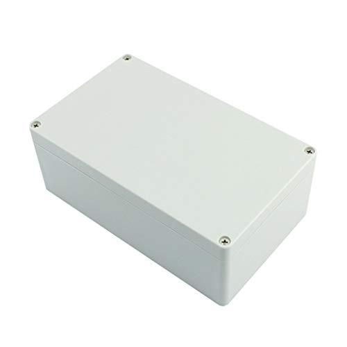 BE YOU TIFUL Caja de conexiones, caja de conexiones de monitoreo de bricolaje para interiores y exteriores, IP67, impermeable, a prueba de polvo, caja de cableado para proyectos eléctricos