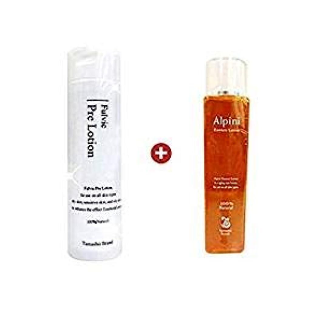 忌避剤外科医動脈プレ化粧水フルボ200ml+アルピニエッセンスローション150mlセット 完全無添加の拭き取り+保湿化粧水セット