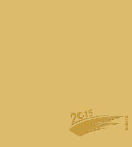 Foto-Malen-Basteln gold mit Folienprägung 2015: Kalender zum Selbstgestalten