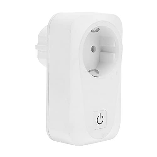 Enchufe inteligente, salida WiFi inteligente de 16 A que funciona con Alexa Echo, Google Home, enchufe inteligente sin necesidad de concentrador(EU)