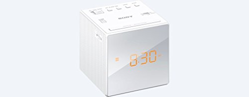 Sony Alarm Clock Radio, White
