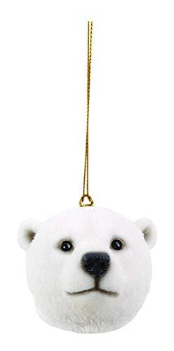 Vivid Arts BG-HD14-G decoratief figuur ijsbeerkop om op te hangen, speelse kop