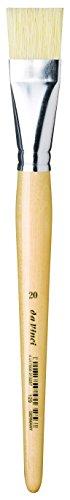 DA VINCI 129Series Brush, 20, Cinese, setole Yellowish, 22x 2.3x 30cm
