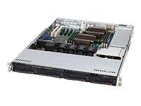 Supermicro 560-Watt 1U Rackmount Server Chassis with Backplane Cooling System, Black CSE-815TQ-563CB