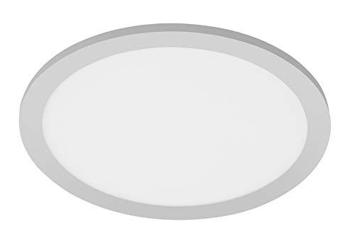 LED Deckenpanel Telefunken 309004TF Deckenleuchte Sensor Chrom Weiß