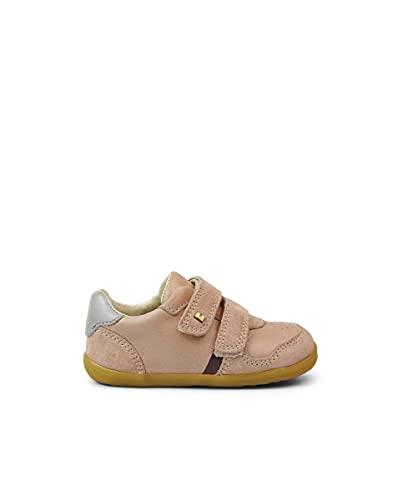 Bobux Step Up Riley_Primeros Pasos - Zapatillas Deportivas Casual de Bebés Bobux de Piel (Dusk Silver Pearl, Numeric_22)