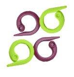 KnitPro 30 Stück Maschenmarker Splitring - grün und lila - (Lager: V-hDis)