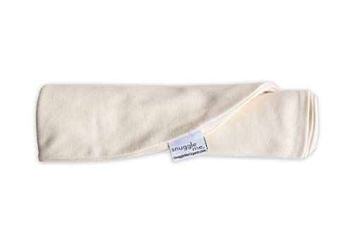 Snuggle Me Extra Organic Cotton Cover for The Snuggle Me Infant Padded Loungers with Center Sling, Natural