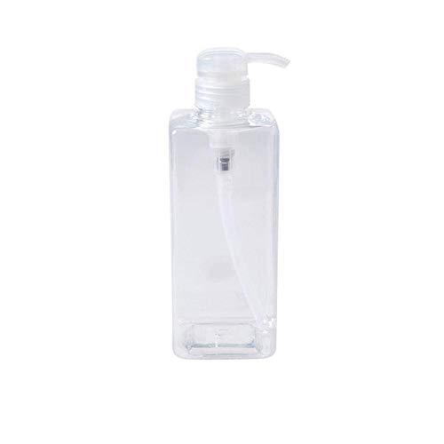 600ML Nachfüllbare Leere Reiseflaschen Seifenspender Kosmetik Container für Shampoo Duschgel Leere Flasche