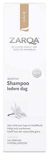 Zarqa - Shampoo Iedere Dag - 200ml - Milde Shampoo voor Dagelijks Gebruik - Herstelt, Hydrateert en Beschermt de Huidbarrière van de Hoofdhuid - met Dode Zeezout