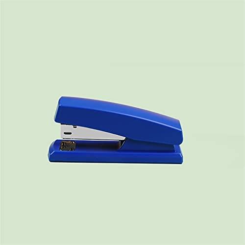 WANGYIYI Grapadora que ahorra mano de obra Grapadoras giratorias para placas de uñas Máquina de encuadernación antideslizante de escritorio utiliza grapas de 24/6 Papelería para estudiantes de oficina