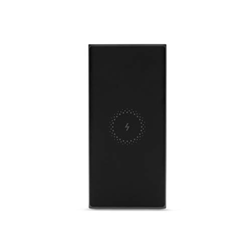 Mi Wireless Power Bank 10000mAh (Black, with Type-C Support, 18W Fast Charging)