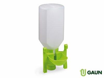 Gaun 45010 - Bebeverino Misto con Bottiglia per Uccelli, 2 Litri