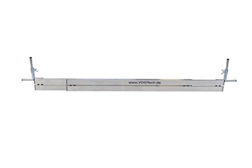 Vogtech verstellbare Abziehschienen H4 145-235cm