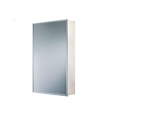 """Jensen B72338501X Bevel Mirror Medicine Cabinet, 16"""" x 22"""""""
