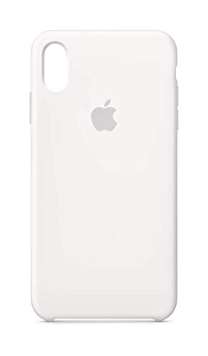 Apple Custodia in silicone (per iPhoneXSMax) - Bianco