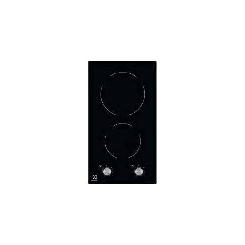 Plaque Vitrocéramique 2 feux-Electrolux EHF3920BOK - Plaque de cuisson Vitrocéramique - Dimensions produit (LxP en cm) : 29 / 52