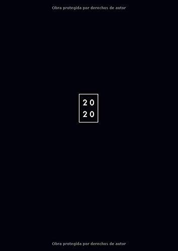2020: XXL Agenda 2020 2 Paginas por Dia - Tamaño 21x29,7cm...