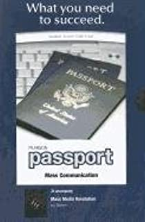 Pearson Passport Student Access Code Card for Mass Media Revolution (Standalone)