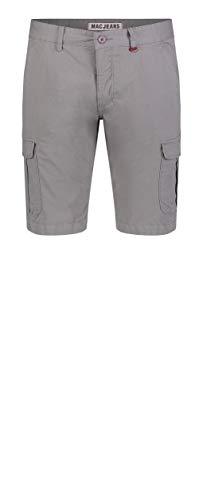 MAC Jeans Herren Cargo Bermuda Shorts, Grau (Metal Grey PPT 055r), W33(Herstellergröße: 33/11)