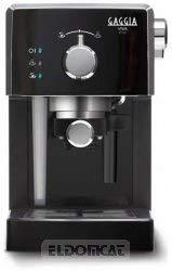 Gaggia Vica Chic RI843313 Kaffeemaschine Schwarz-Edelstahl
