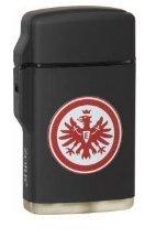 Feuerzeug Rubber Laser schwarz Eintracht Frankfurt im Display