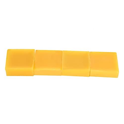 Cera de abeja natural, material cosmético duradero para la fabricación de velas de labios (28 gramos)