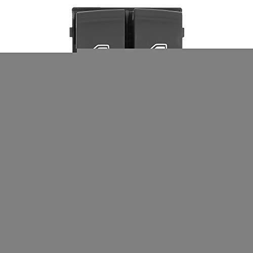 Enrilior 8ED 959 851 - Interruptor maestro para elevalunas eléctrico compatible con A-u-d-i A4/S4 B6 B7 RS4 SEAT Exeo
