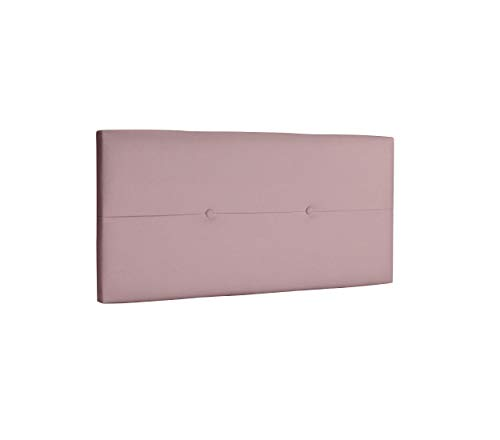 DHOME Cabecero de Polipiel o Tela AQUALINE Pro cabeceros Cabezal tapizado Cama Lujo (Polipiel Rosa, 110cm (Camas 80/90/105))