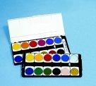 Pelikan Non-Toxic Watercolor Opaque Paint Set44; Set 12