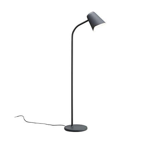 Northern Me Stehlampe, Stahl, 60 W, Grau, 130 cm x 25 cm