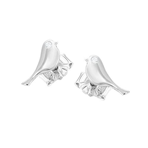 Pendientes de plata de ley 925 con circonitas y diseño de infinito, joya de vela, pendientes de plata, pendientes de plata, pendientes de infinito, cristales Swarovski, joyas para mujer, Plata de ley,