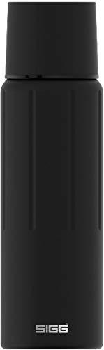 Sigg Gemstone IBT Obsidian Thermo Trinkflasche (1.1 L), schadstofffreie und isolierte Trinkflasche, auslaufsichere Thermo-Flasche aus Edelstahl