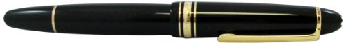 Montblanc 162 Meisterstuck Le Grand 11402 - Penna roller, colore: Nero
