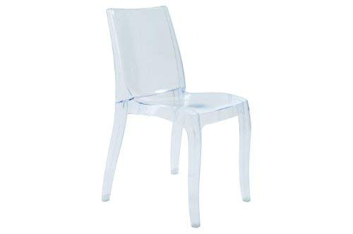 Chaise empilable, Cristal Clair