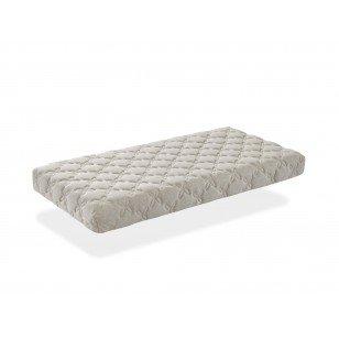 Ecus Kids 1703496031 - colchón cuna malva lino 140x70 cm 0m+