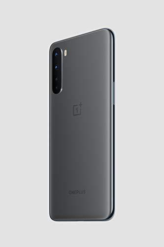 "OnePlus NORD Smartphone 6.44"" Fluid AMOLED Display 90Hz, 12GB RAM + 256 GB Storage, Quad Camera, Warp Charge 30T, Dual Sim, 5G, Grigio (Ash Grey)"